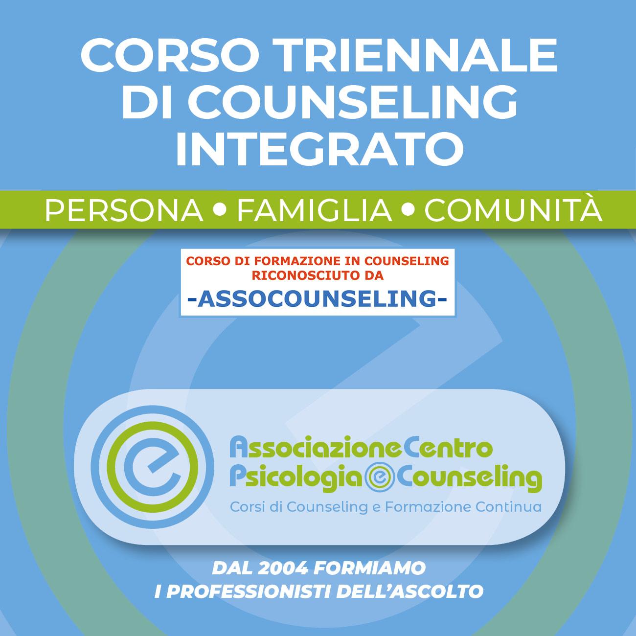 corso triennale di counseling integrato